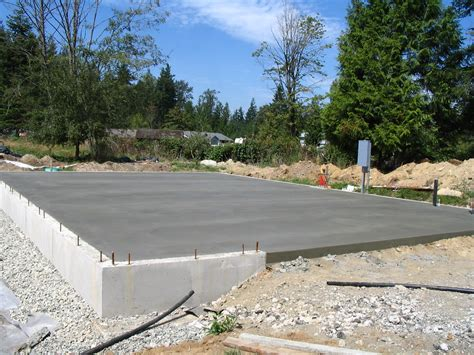 Concrete Garage Foundation residential house foundations house design and