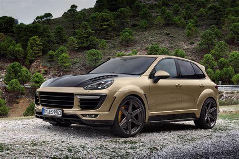 Porsche Cayenne Gold by Topcar Porsche Cayenne Vantage Gold Edition Gtspirit