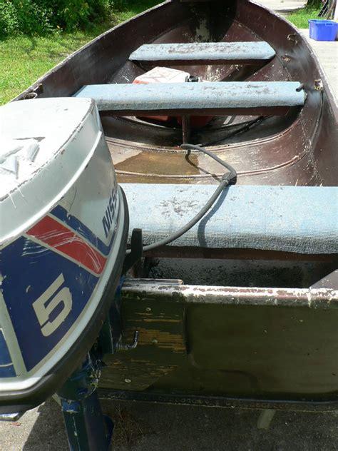 aluminum jon boat bench seats aluminum jon boat 11 5 feet w nissan outboard motor plus