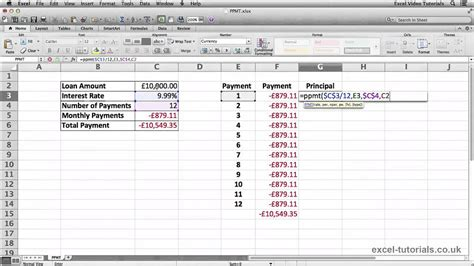 tutorial microsoft excel youtube microsoft excel tutorial ppmt function youtube