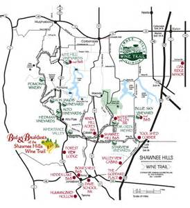 wine trail map davie school inn s