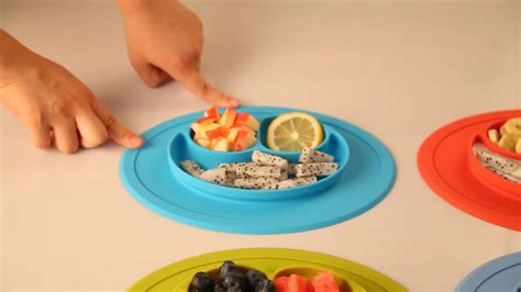 amazon hot products 2017 amazon hot product silicone baby plate placemat for