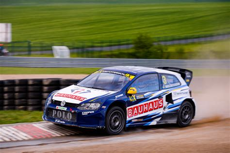 volkswagen polo rallycross three volkswagen polo rx supercars for lydden hill