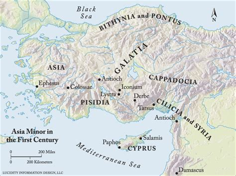 asia minor map enter the bible maps century asia minor