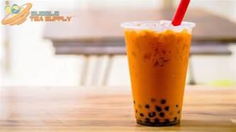 how to make instant thai tea bubble tea with boba tapioca pearls bubble tea supply blog