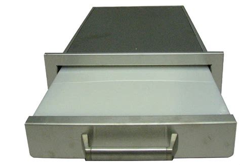 Bbq Island Drawers by Pcm Bbq Island Cutting Board Drawer 300h Series Stainless