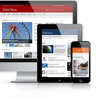 drupal themes for news portal global news portal responsive drupal theme by monkeysan