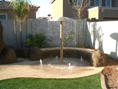 how to make a backyard splash pad splash pad gallery