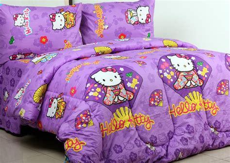 Sprei Hellokitty Ungu Uk160x200x26 detail product sprei dan bedcover hello kimono ungu toko bunda