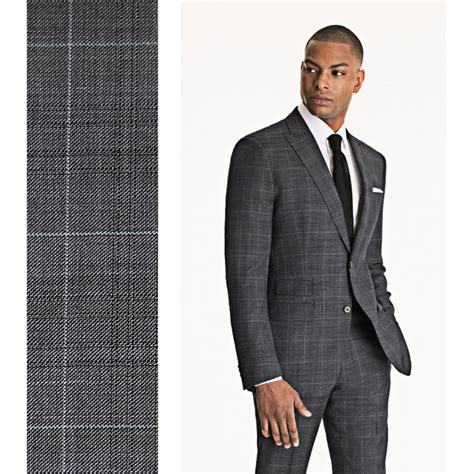 light grey windowpane suit the gray windowpane suit with shadow check http