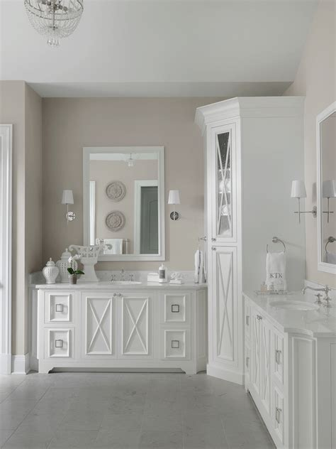 white master bathrooms transitional white master bathroom beck allen cabinetry