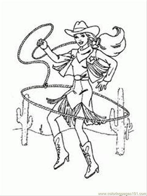 cowgirl coloring page coloring pages arbie doll cowgirl coloring 1 cartoons