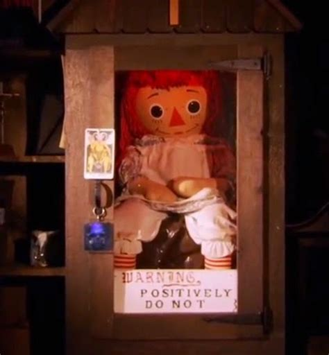 annabelle doll ghost hunters dr theda s crypt the real annabell