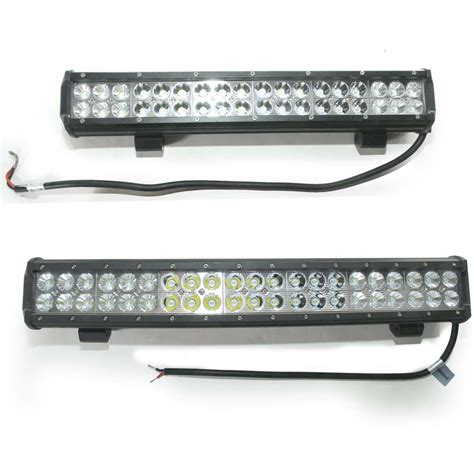 18 led light bar 18 quot led light bar 7600 lumens tmi trailer marketing inc