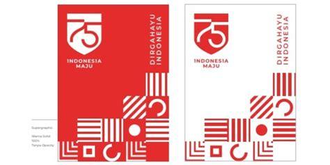 usung tema indonesia maju  logo hut   ri