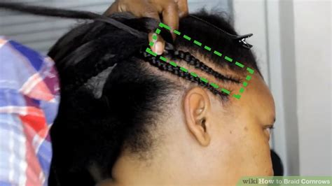 how to braid hair step by step black hair how to braid cornrows 12 steps with pictures wikihow