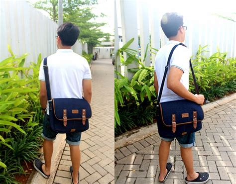 Oxlade Messenger Black dropship dropdenim