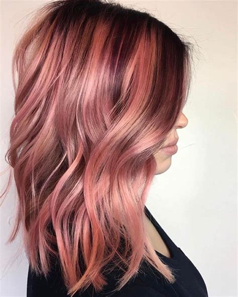 straight sholder length ombre hair image result for pink straight ombre shoulder length