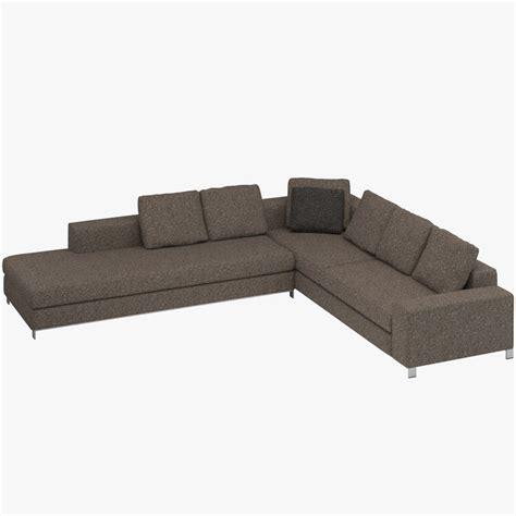 minotti williams sofa minotti williams sofa 3d model