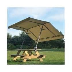 Camping Picnic Table Canopy by Picnic Table Umbrella Outdoor Canopy Sun Shelter Backyard