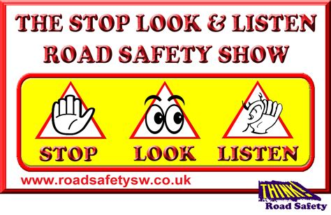 printable road safety banner emazdad the magician children s entertainer plymouth