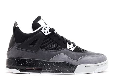 Air 4 Cool Grey Gs by Get Ua Air 4 Retro Gs Fear Pack Black White Cool Grey Pro Platnm Wholesale