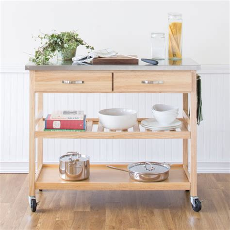 stainless steel kitchen island cart kitchen island cart with stainless steel top modern