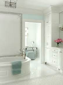 white and turquoise bathroom traditional bathroom at