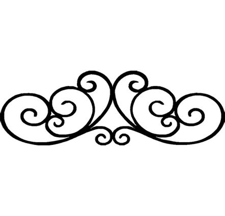 decorative line scroll decorative leaf scroll decals stickers high style wall