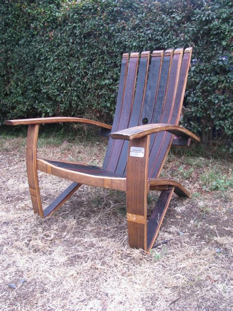 Whiskey Barrel Chairs by Wine And Whiskey Barrel Chairs Are A Great Hit In San