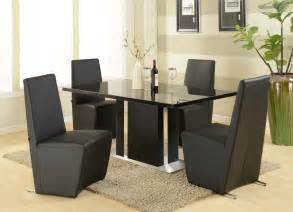 Set Of Dining Table And Chairs Modern Furniture Table Home Design Roosa