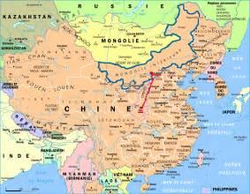 mongolie int 233 rieure voyages cartes