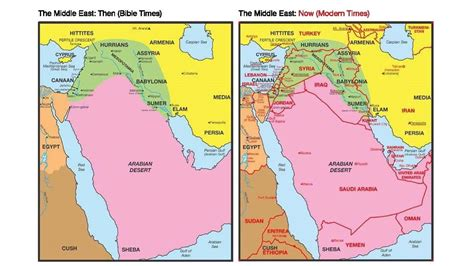 middle east map then and now daniel study woodridge community church