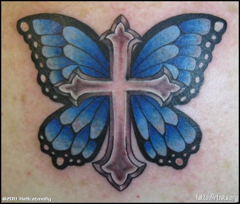cross and butterfly tattoo i m against tattoos but this is awesome cross with