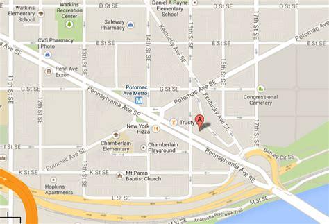 washington dc map pennsylvania avenue barney circle 1500 pennsylvania districtre