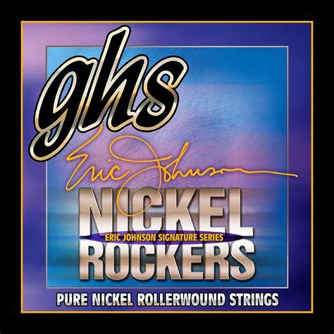 Ejm De La ghs nickel rockers 011 052 r ejm eric johnson 171 corde
