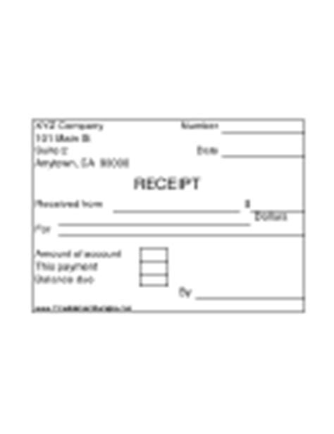 square receipt template square rectangular receipts