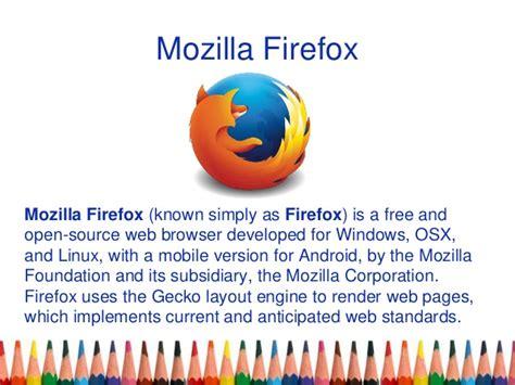 gecko layout engine adalah web browsers