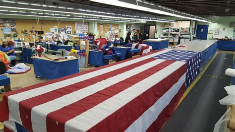 s a company supplying flags for president elect donald