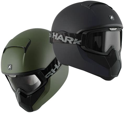 Helm Shark shark vancore matt streetfighter brille motorrad bike integralhelm helm ebay