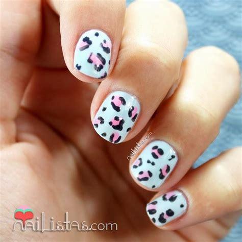 imagenes de uñas acrilicas de leopardo u 241 as decoradas con leopardo baby nail art infantil