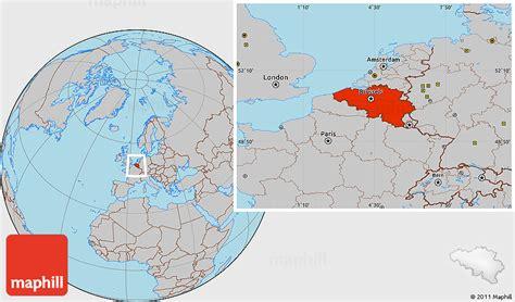 belgium world map location image gallery location belgium