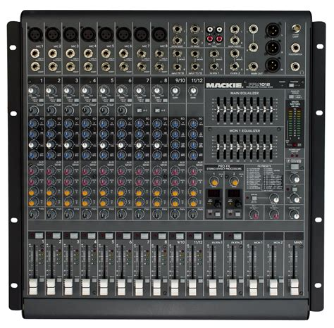 Power Mixer Yamaha 8 Channel mackie ppm1012 12 channel powered mixer zzounds