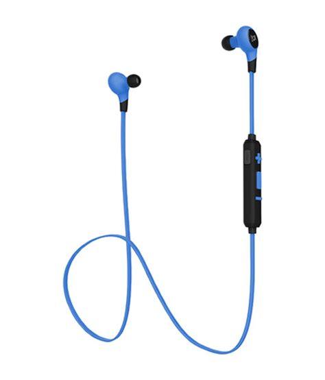 buy boat earphones online boat rockerz in ear bluetooth earphones blue and black
