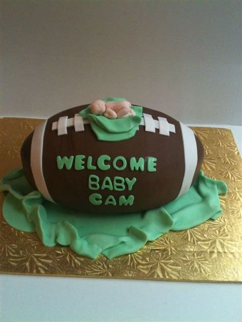 Baby Shower Football Cakes by 301 Moved Permanently