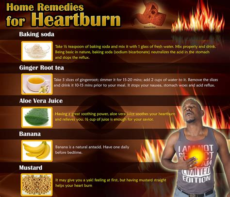 Heartburn Home Remedy by Treat Heartburn The Way Home Remedies Prevention