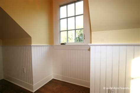 bedroom wainscoting wainscot and picture frames traditional bedroom by