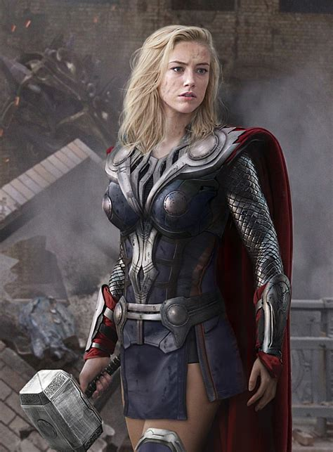 thor movie girl name the female avengers see the superheroes recast as women