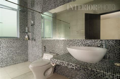 black mosaic bathroom lor ong lye interiorphoto professional photography for