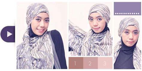 tutorial hijab tanpa peniti pintar pakai jilbab cara memakai jilbab praktis tanpa peniti